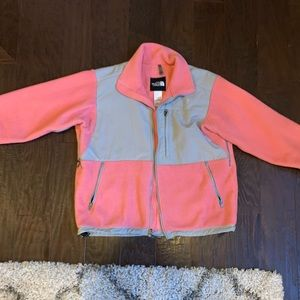 Pink North Face Fleece Jacket